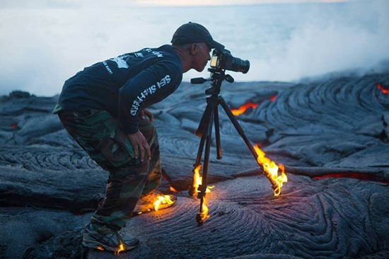 Fotógrafo de vulcões 01
