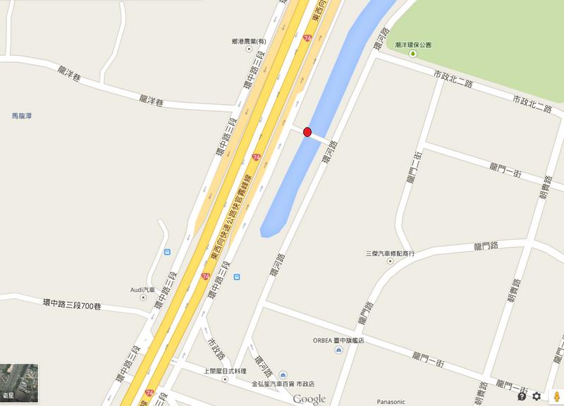 苦楝樹map