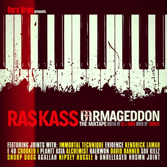 DE AFAR: Ras Kass - Barmageddon (mixtape)(2012)