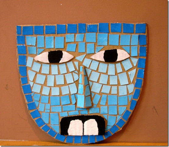 mascara azteca infantiles
