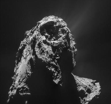 mosaico do cometa