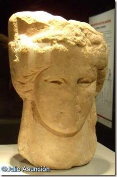 Cabeza de Demter - Santuario de la Luz - Museo arqueolgico de Murcia