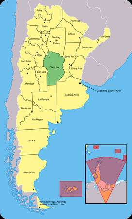 Córdoba_(Argentina) mapa