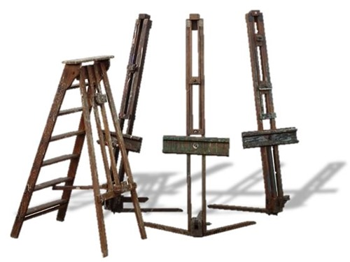 English Artists Easels ca. 1940