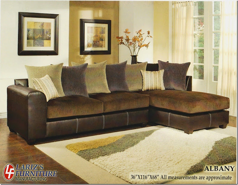LARIZ'S ALBANY SECTIONAL