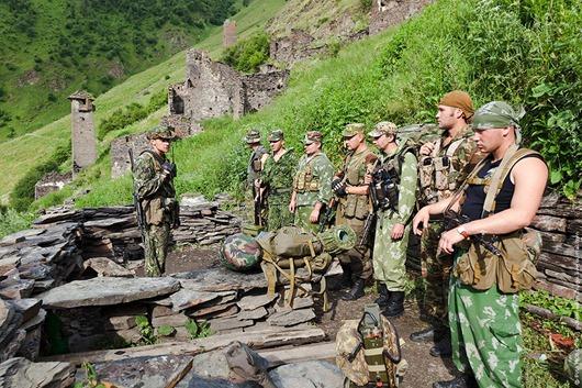 Пограничная служба на российско-грузинской границе