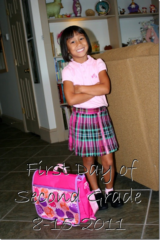 first day 2nd grade