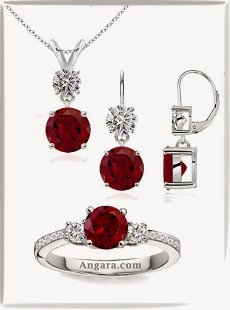 Garnet Jewelry Collection