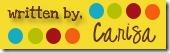 Signature button Carisa