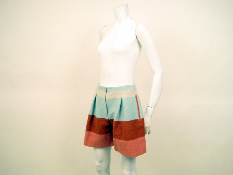 See By Chloe Color Block Short