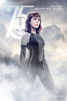 Catching Fire Victor Poster - Johanna