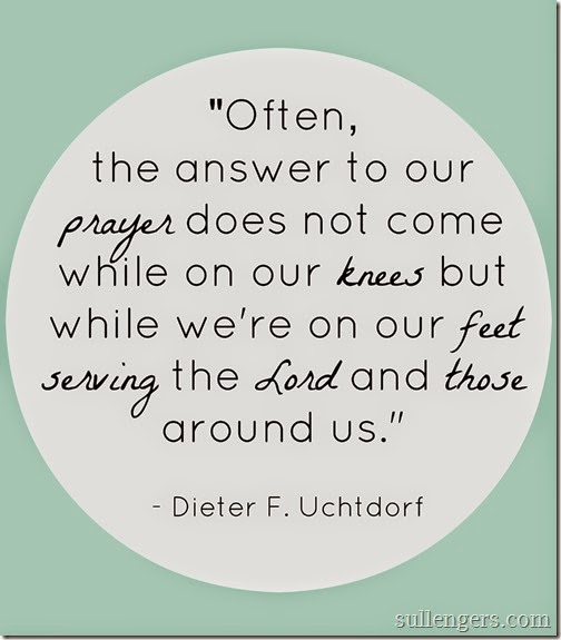 Uchtdorf service quote