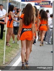 Paddock Girls Gran Premi Aperol de Catalunya  03 June  2012 Circuit de Catalunya  Catalunya (3)