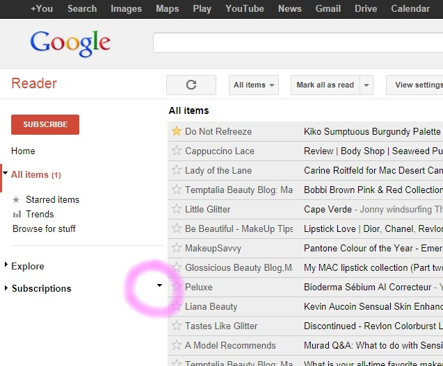01 -google reader how to fix untitled subscriptions