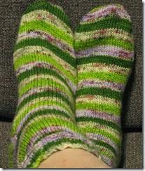 Zombody Go Bragh Socks complete