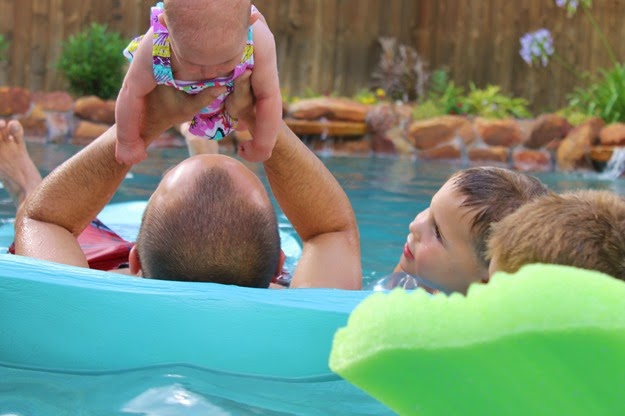 Bliss' First Swim and more! 033