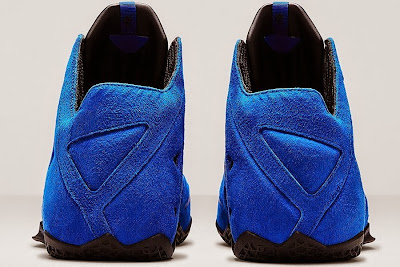 nike lebron 11 nsw sportswear ext blue suede 5 07 Nike LeBron XI EXT Blue Suede Drops on April 10th for $200