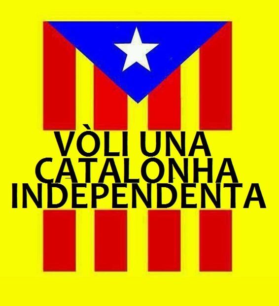Bandièra catalana per independéncia