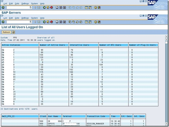 SAP Daily Monitoring T-Codes and its description