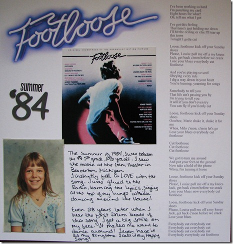 15 Footloose
