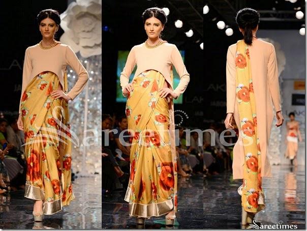 Masaba_Gupta_Floral_Print_Saree