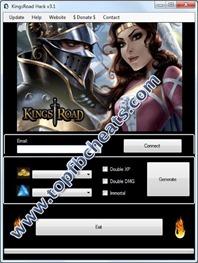 KingsRoadHackCheatTool