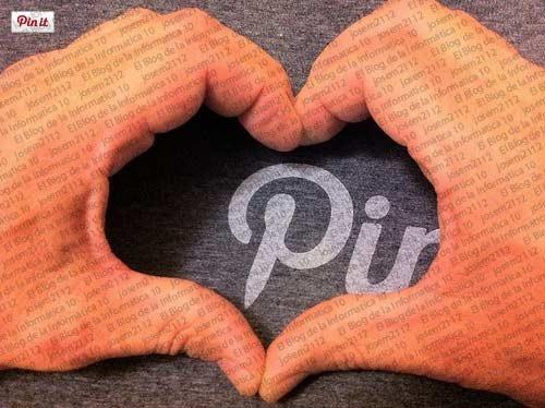 Botón Pinterest en fotos de blogger - vista previa