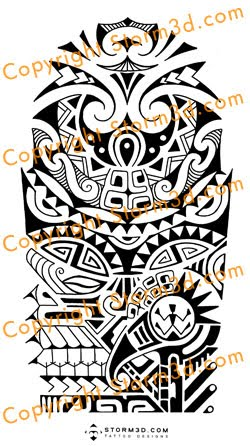 the rock shoulder custom tattoo designs jpg maori inspired tattoo ...