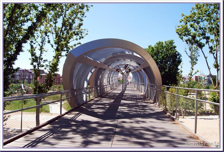 puente monumental de arganzuela - sector parque desde paseo de las yeserías