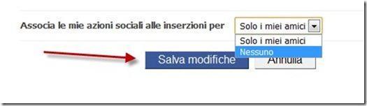 inserzioni sociali facebook privacy