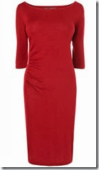 Phase Eight Ruched Knit Dress