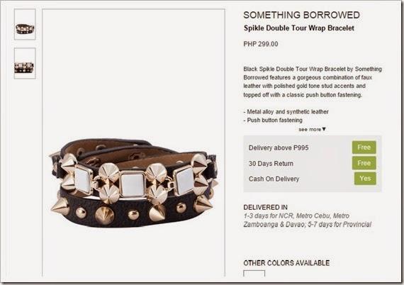 bracelet zalora