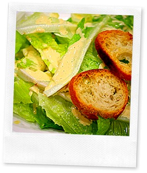 Ceasar Salad with Blender Dressing