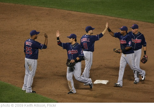 'Cleveland Indians' photo (c) 2009, Keith Allison - license: http://creativecommons.org/licenses/by-sa/2.0/