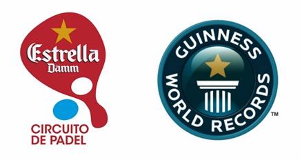 El pádel entra en el Guinness World Record de la mano de Estrella Damm.