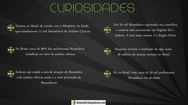 CURIOSIDADES BIOMEDICINA