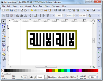 edit svg dengan inkscape