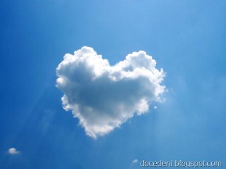 nuvem de coração