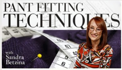 craftsy pant fitting techniques class