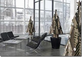 Moderno-recycled-cardboard-Christmas-tree-by-Cascade