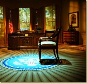 empty pres chair