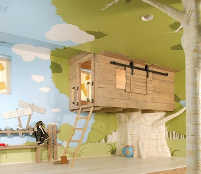 16. INDOOR TREE HOUSE