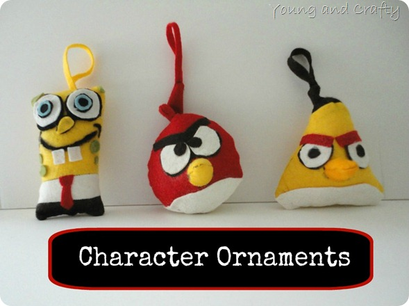 Character Ornaments 2