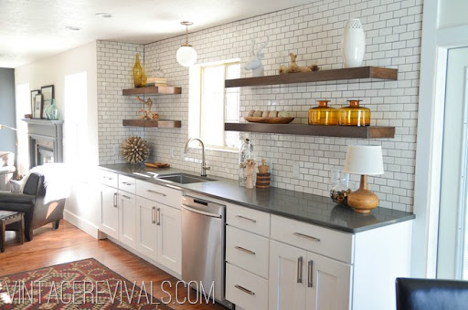 Medium image of kitchen makeover   vintage revivals