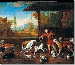 Hondius_Feeding-The-Dogs