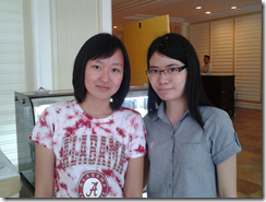 Two ladies - Lee Yin of KL, Chon Yong of Penang