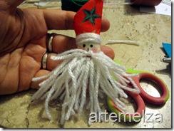 Шить - лицо Санта-Клаус-42