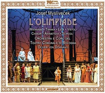 CD REVIEW: Josef Mysliveček - L'OLIMPIADE (Bongiovanni GB 2469/70-2)