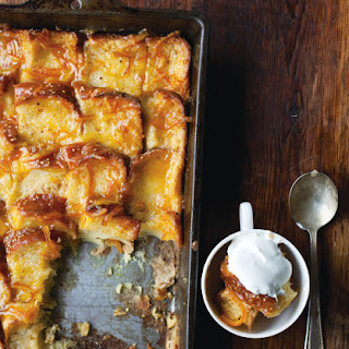 Orange Marmalade Bread and Butter Pudding