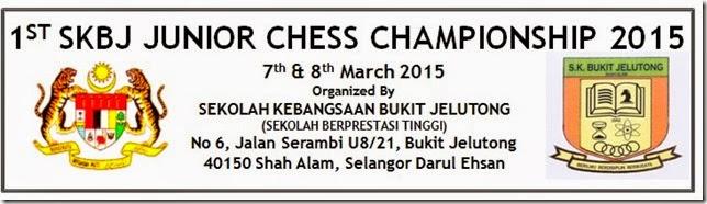 1st SKBJ Junior Chess Championship 2015